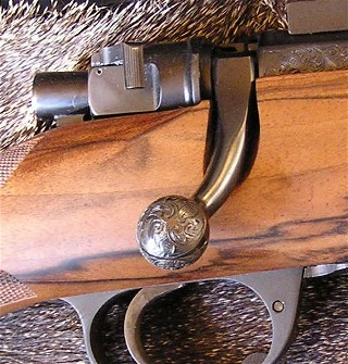 ENGRAVED BOLT KNOB
