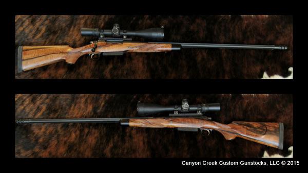 Canyon Creek Gun Stock